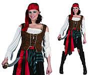 """Женский карнавальный костюм """"Пиратка"""" размеры S/M"""