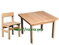 Детский стол и стул БУК, фото 1