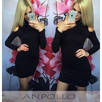 Женское Платье открытое плечо , фото 1