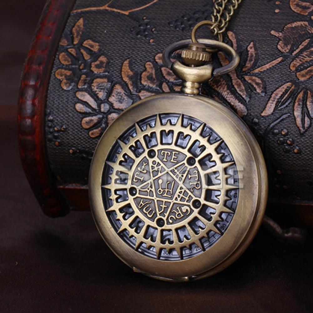 Часы карманные ретро на цепочке
