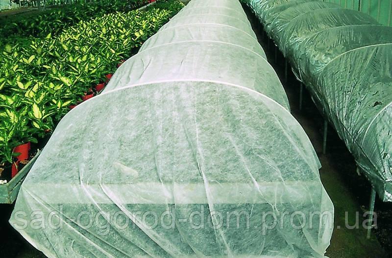 Комплект для выращивания клубники П-23 белое+П-50 черное (3,2*10)