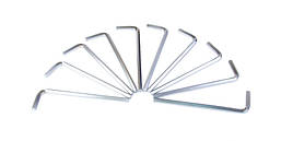 Ключ шестигранный 10мм Mastertool 75-0010