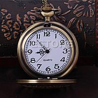 Карманные часы классика звезда