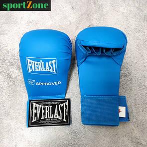 Перчатки для каратэ Everlast 3956, размер M синий