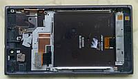 Nokia Lumia 925 модуль дисплей LCD + тачскрін в зборі з рамкою