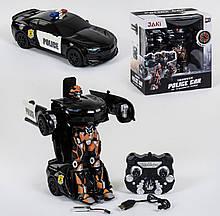 Трансформер на радиоуправлении, робот-машина со световыми и звуковыми эффектами ТТ 671 J, (цвет черный)