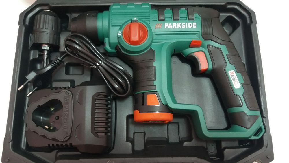 Акумуляторний перфоратор Parkside PBHA 12 A1