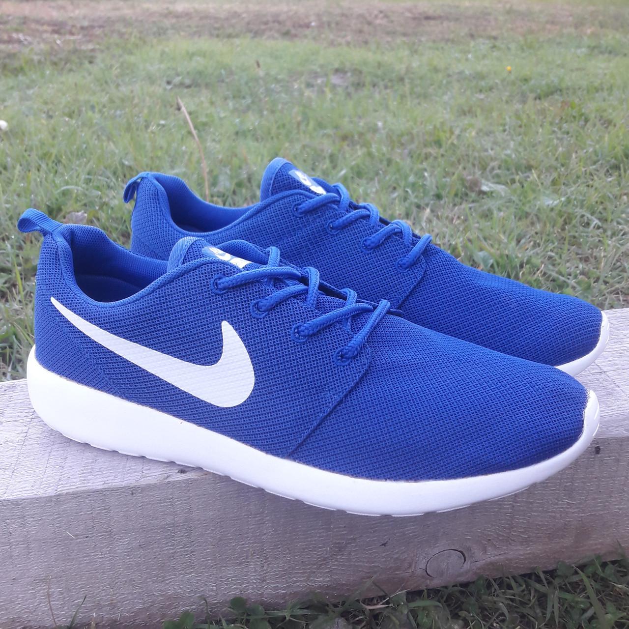 Кроссовки Nike р.44 текстиль сетка синие