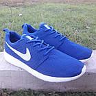 Кроссовки Nike р.44 текстиль сетка синие, фото 2