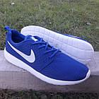 Кроссовки Nike р.44 текстиль сетка синие, фото 3