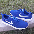 Кроссовки Nike р.44 текстиль сетка синие, фото 4