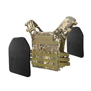 Жилет тактический AOKALI Outdoor A54 Camouflage Sand военный разгрузочный