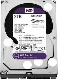 Жесткий диск Western Digital Purple 2TB 64MB 5400rpm WD20PURZ 3.5 SATA III