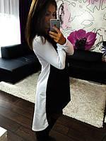 Платье черное и белое, фото 1