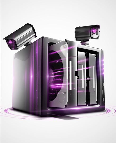 Жорсткий диск WD Purple для ПК Western Digital Purple 4TB WD40PURZ
