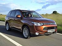 Брызговики оригинальные Mitsubishi Outlander 2012- (AVTM) комплект 4-шт.