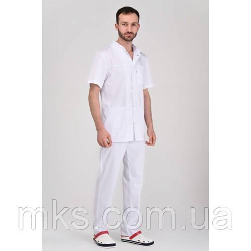 Медичний костюм Берлін білий