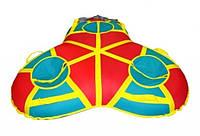 Тюбинг санки ватрушка надувные(тройные)