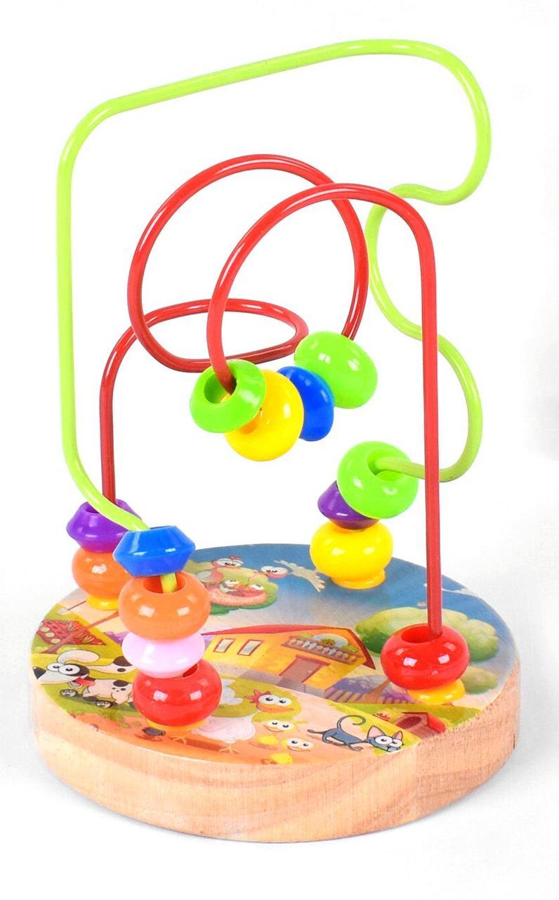 Дерев'яна іграшка Пальчиковий лабіринт