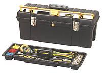 Ящик 192850 Stanley 659x 272 x 260 мм з відсіком для рівня