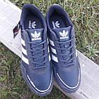 Кросівки чоловічі Adidas р. 44 темно-сині, фото 3