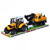Трактор з причепом 666-120A