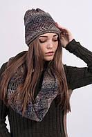 Очень теплый и комфортный хомут и аккуратная шапочка
