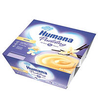 Humana Baby Pudding Vanille «Ванильный» Пудинг 4х100 г