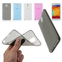 Силиконовый чехол для телефона A500 Galaxy A5 black, Samsung Ultrathin TPU 0.3 mm cover case