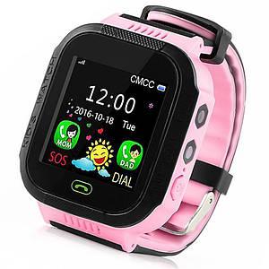 Детские умные смарт часы GPS Smart Kids watch с камерой, прослушкой, Часы-телефон для детей c трекером Розовый