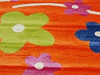 Детская ковровая дорожка Fulya 8947a ORANGE