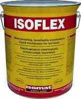 ІЗОФЛЕКС -еластична рідка гідроізоляційна мембрана . Робоча температура -15 *, +100* градусів.