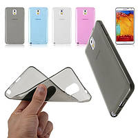 Силиконовый чехол для телефона S6 Edge black, Samsung Ultrathin TPU 0.3 mm cover case
