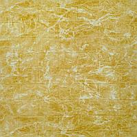 Декоративна самоклеюча 3Д панель для стін 700*770*5 жовтий мрамор фактура цегли