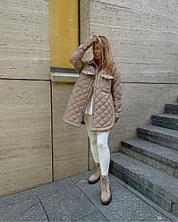 Жіноча куртка демісезонна на синтипоне Розміри: 42-46, 48-50