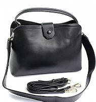 Женская кожаная сумочка клатч 20350 Black Женские кожаные сумки и кожаные клатчи купить недорого в Украине