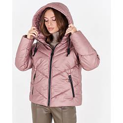 Трендовая женская зимняя куртка с капюшоном