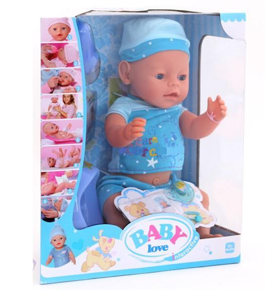 """Кукла-пупс """"Baby Born"""" с аксессуарами BL011C"""