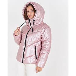 Шикарная женская зимняя куртка из лаковой плащевки