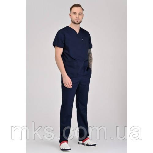 Медицинский костюм Мадрид Темно/синий