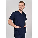 Медицинский костюм Мадрид Темно/синий, фото 2