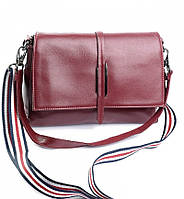 Женская кожаная сумочка клатч 2201 Wine Red Женские кожаные сумки и кожаные клатчи купить недорого в Украине
