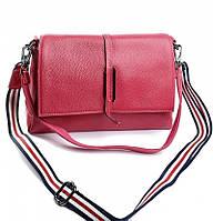 Женская кожаная сумочка клатч 2201 Plum Женские кожаные сумки и кожаные клатчи купить недорого в Украине
