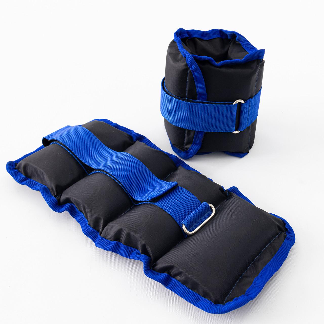 Утяжелители для ног и рук (манжеты для фитнеса и бега) OSPORT Lite Comfort 2шт по 1кг (FI-0117)