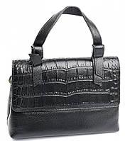 Женская кожаная сумочка клатч 619 Black Женские кожаные сумки и кожаные клатчи купить недорого в Украине