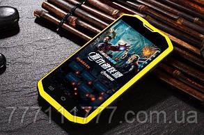 "Смартфон Hummer H8 yellow. IP68 (2SIM) 5"" (2SIM) 1/4Гб 2/8Мп 3G оригинал Гарантия!"