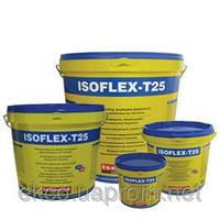 ІЗОФЛЕКС-Т25 еластична,акрилова,рідка ,гідроізоляційна мембрана.Робоча температура -25,+120 градусів.
