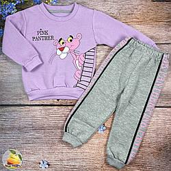 """Детский костюм с начёсом """"Розовая пантера"""" Размеры: 92,98,104 см (02588-2)"""