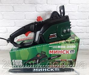 Цепная пила Минск МПЦ-3400(1+1)®