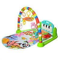Развивающий коврик для младенца 698-55A с пианино